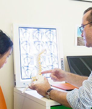 back pain, neck pain, chiropractic